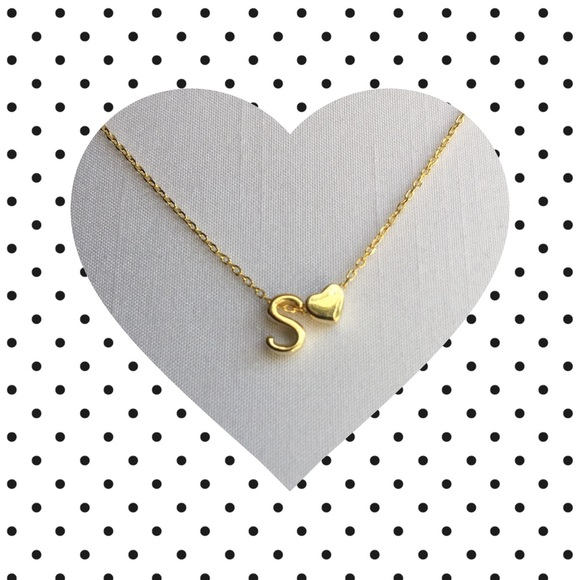 Jewelry - Letter S Initial Necklace